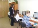 На занятиях по веб-дизайну, преподаватель Т.В.Голик