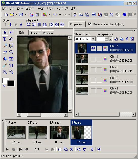 Как сделать в фотошопе анимированный гиф